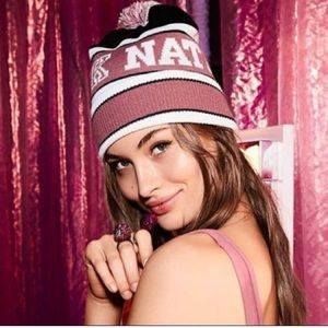 Victoria's Secret Pink Beanie Hat